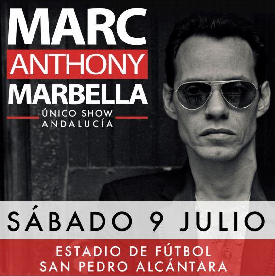 Marc Anthony confirmación estelar este Verano en Marbella