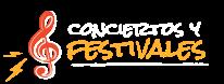 Conciertos y Festivales, la música en vivo